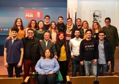La Asamblea Local de Albacete ratifica a Virginia Lozano como secretaria general de Juventudes Socialistas de Albacete para los próximos cuatro años