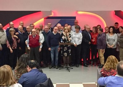 El PSOE de Albacete homenajea a sus integrantes con más de 35 años militando en el Partido
