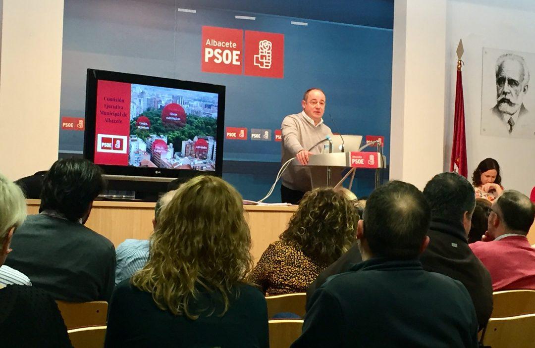 LA ASAMBLEA DE LA AGRUPACIÓN LOCAL DEL PSOE DE ALBACETE RESPALDA EL PLAN DE TRABAJO DE LA EJECUTIVA MUNICIPAL