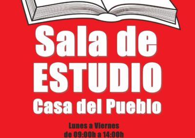 JUVENTUDES SOCIALISTAS Y EL PSOE ABREN LA CASA DEL PUEBLO PARA DESCONGESTIONAR LAS SALAS DE ESTUDIO