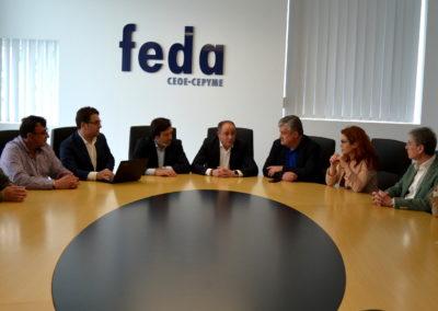 PSOE Y FEDA ANALIZAN EL PROYECTO PARA LA INSTALACIÓN DE UNA PLATAFORMA LOGÍSTICA EN ALBACETE