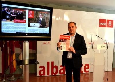 LA AGRUPACIÓN MUNICIPAL DEL PSOE DE ALBACETE LANZA SU NUEVA WEB Y LA PUBLICACIÓN DIGITAL LA VOZ SOCIALISTA