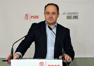 EMILIO SÁEZ LAMENTA QUE MANUEL SERRANO UTILICE EL PREGÓN DE FIESTAS DE UN BARRIO PARA PROFERIR UN MITÍN DESLEAL Y PLAGADO DE MENTIRAS