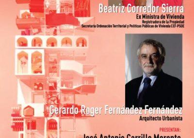 LA EX MINISTRA BEATRIZ CORREDOR PARTICIPARÁ EN UN COLOQUIO SOBRE PERSPECTIVAS DE LAS POLÍTICAS DE VIVIENDA Y SUELO EN ESPAÑA