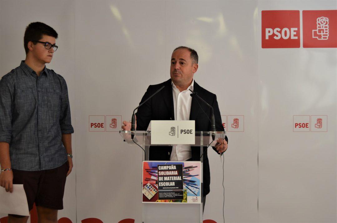 EL PSOE DE ALBACETE DISTINGUE CON EL PREMIO 'PABLO IGLESIAS' LAS TRAYECTORIAS DE MANUEL PÉREZ CASTELL Y LA ASOCIACIÓN DESARROLLO