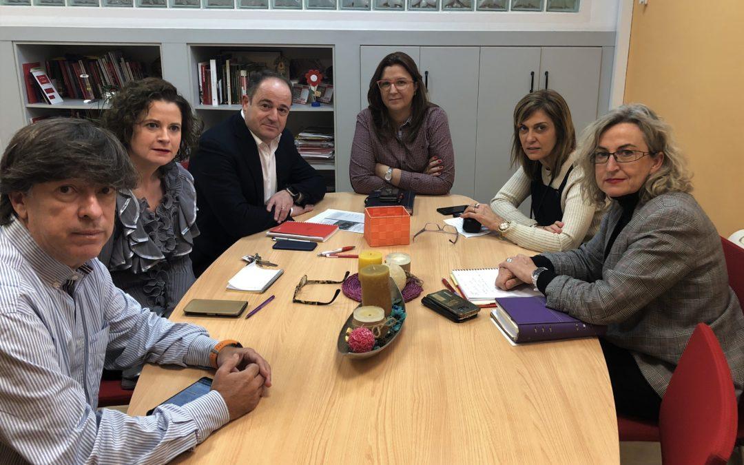 EMILIO SÁEZ ANALIZA CON CCOO PROYECTOS PARA GENERAR EMPLEO DE CALIDAD EN LA CIUDAD DE ALBACETE